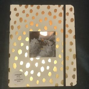 Kate Spade large gold dot agenda planner